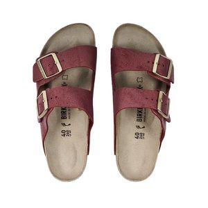 NIB Birkenstock Women's Arizona Suede Sandals